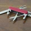 Swiss army knife — Stock Photo #10736608