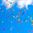 Various balloons — Stock Photo