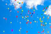 Różne balony — Zdjęcie stockowe