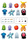 Monster pack — Stock Vector