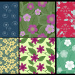 Royalty-Free Stock Vector Image: Floral patterns collection