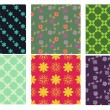 Royalty-Free Stock 矢量图片: Patterns collection