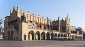 Sukiennice in Krakow, Poland — Stock Photo
