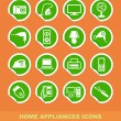 Home appliances icons — Stock Vector #10920301