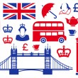 Icons on a theme of England — Stock Photo #11165729