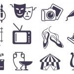 Art icons — Stock Vector #11874106