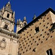 House of Shells and University of Salamanca — Stock fotografie