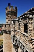 Manzanares el Real castle (Vertical) — Stock Photo