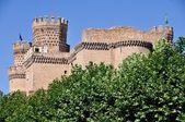 Manzanares el real castillo — Foto de Stock