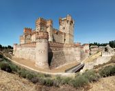 Castle of La Mota (Panorama) — Stockfoto