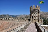 Manzanares el Real Castle — Stock Photo