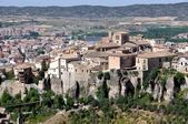 Aerial view of Cuenca, Spain — Stock Photo