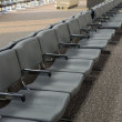 Stock Photo: Airport terminal waiting area