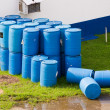 Barrels or tanks of waste — Stock Photo #12034402