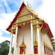 Beautifully buddhism temple in thailand — Stock Photo #11732770