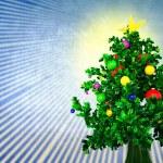 Christmas tree — Stock Photo #11965716