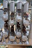 Handle valve — Stock Photo