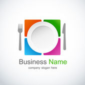 Restaurant icon — Stock Vector