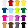 T-shirt templates — Stock Vector #11236892