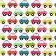 Car pattern - Stock Vector