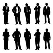 Business man figur — Stockvektor