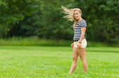 Windy moment — Stock Photo