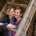 Two lesbians — Stock Photo