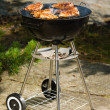 Grilling chicken — Foto Stock
