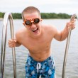 Young swimmer — Stock Photo