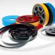 S 8mm reels film — Stock Photo