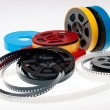 Stock Photo: S 8mm reels film