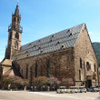 Church of  bolzano - italy — Foto Stock