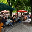 Stockfoto: Outdoor restaurants munich