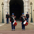 Changing of the guard — Stok fotoğraf