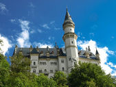 Neuschhwanstein- fussen - germany — Stock Photo