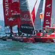 Stock Photo: 2012 americas cup naples -Italy