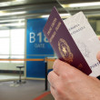Stockfoto: Passport control