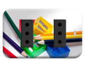 Electrical outlet plate — Stock Photo