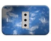 Elektrické zásuvky deska — Stock fotografie