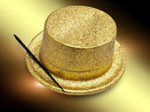 Magic hat — Stock Photo