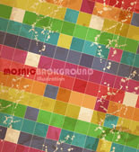 Mosaic. — Vector de stock