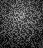 Sfondo astratto fiori. — Vettoriale Stock