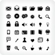 36 new  Webicons — Stock Vector