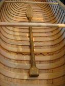 Kanot och paddel — Stockfoto