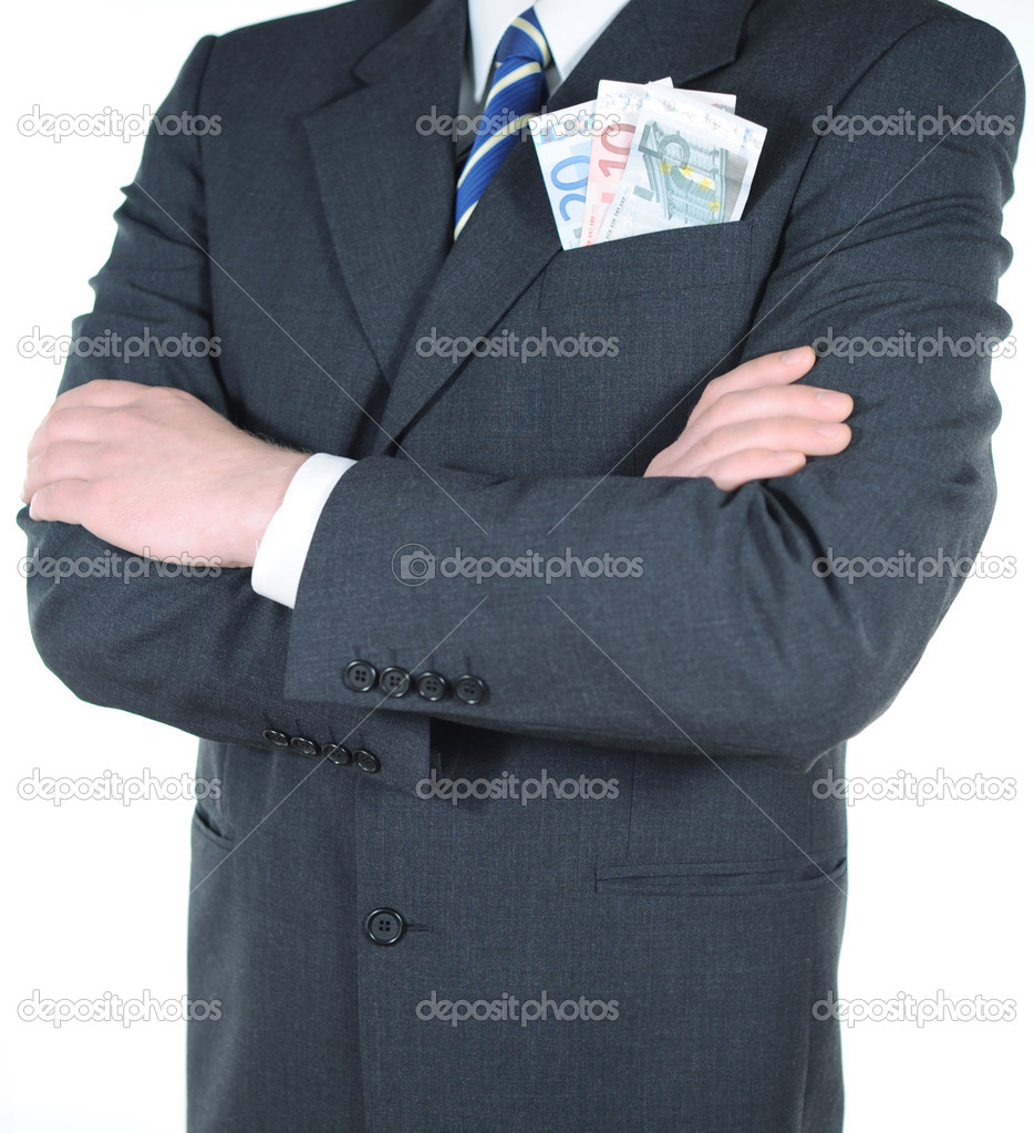 Money in the pocket — Stock Photo #11492563
