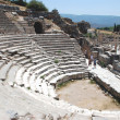 Amphitheater   in Ephesus,  Efes,  Turkey — Stock Photo