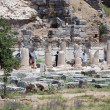 Stock Photo: Pillars at Ephesus, Izmir, Turkey, Middle East