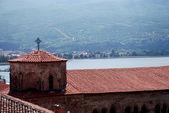 Iglesia de st sofia, ohrid, lago ohrid, macedonia — Foto de Stock