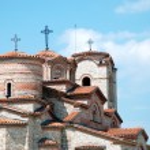 Постер, плакат: Orthodox Church of St Panteleimon Ohrid Macedonia