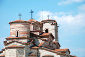 Orthodox Church of St Panteleimon, Ohrid, Macedonia — Stock Photo